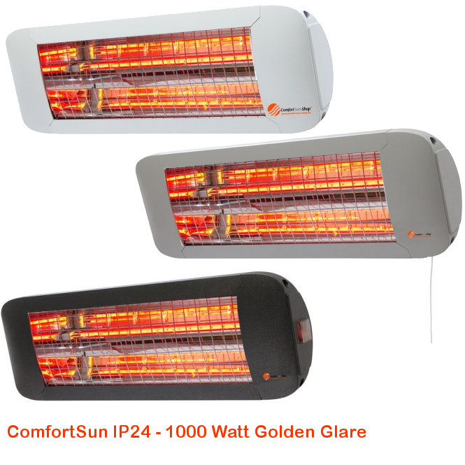 ComfortSun IP24 - Golden Glare 1000 Watt-cat©www.comfortsun-heating.com