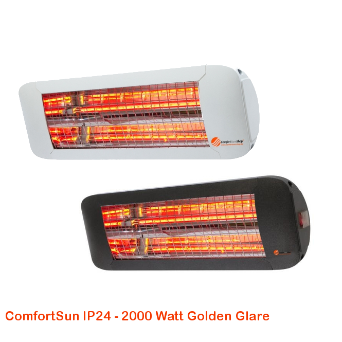 ComfortSun IP24 - Golden Glare 2000 Watt-cat©www.comfortsun-heating.com