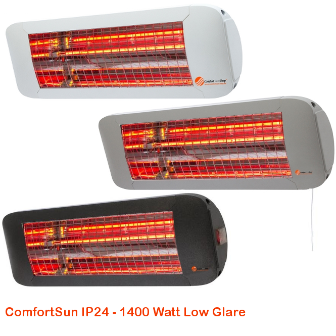 ComfortSun IP24 - Low Glare 1400 Watt-cat©www.comfortsun-heating.com