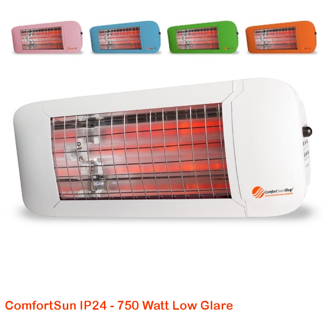 ComfortSun IP24 - Low Glare 750 Watt-cat©www.comfortsun-heating.com