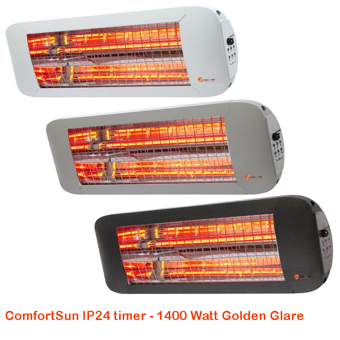 ComfortSun IP24 timer- Golden Glare 1400 Watt-cat©www.comfortsun-heating.com