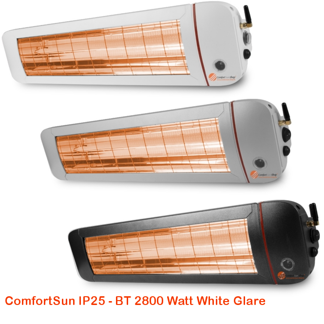 ComfortSun IP25 BT-White Glare 28000 Watt-cat©www.comfortsun-heating.com